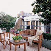 Smart roof garden