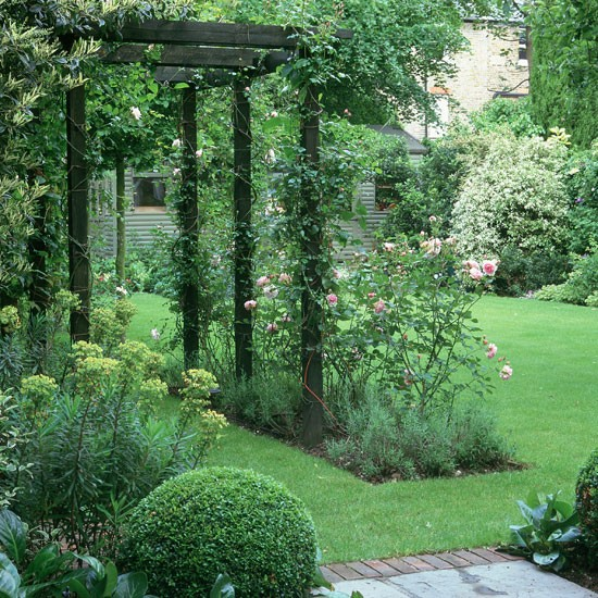 Garden arch designs photograph garden walkway garden des for Garden archway designs