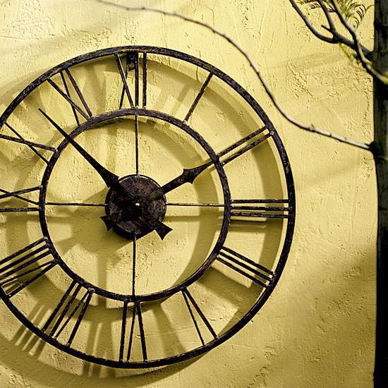 Outdoor Clock Small Garden Ideas Garden Design Ideas Garden