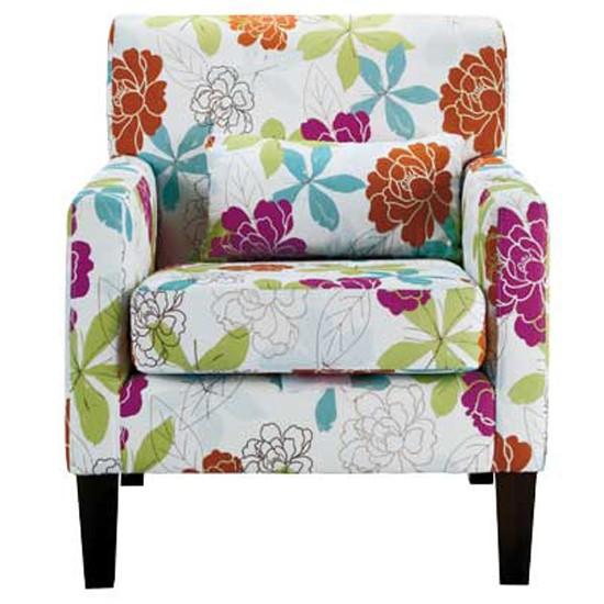 Floral Armchair From Homebase Chairs Funky Design Striking Furniture Photo Gallery