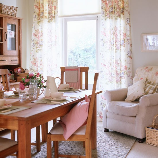 floral chintz dining room country style dining rooms dining rooms