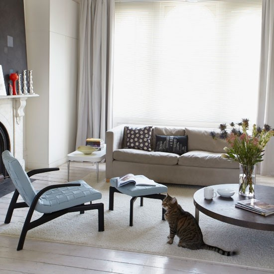 Minimalist living room | Living room designs| Image | Housetohome.co.uk
