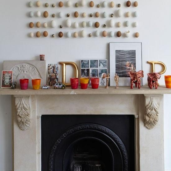 Living room mantelpiece | Living room decorating | image