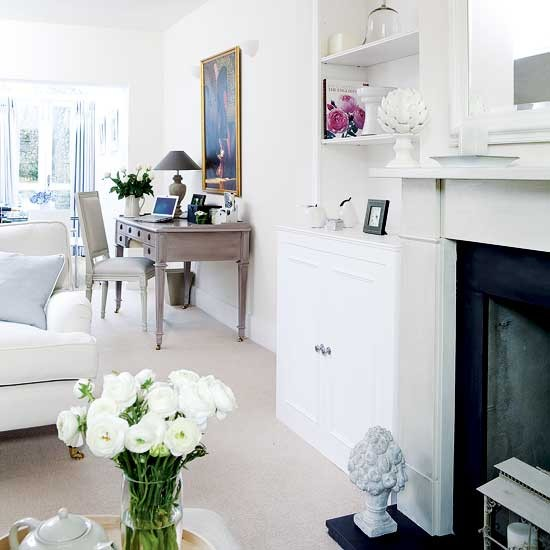 Open-plan living room and home office | Open-plan living | image