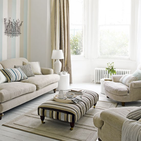 Pastel living room | Living room decorating ideas | Image | Housetohome.co.uk