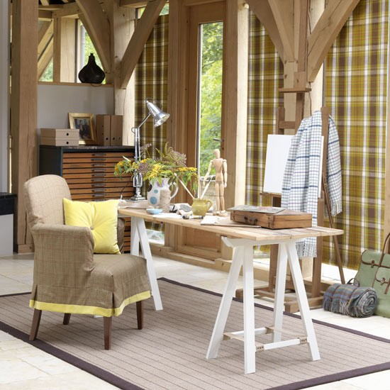 Highland-inspired home office | Country-style home offices | home office | country-style decorating | image | housetohome.co.uk