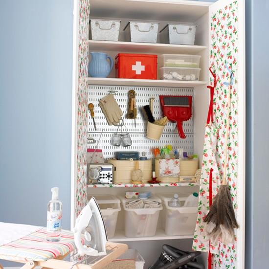 Home design image ideas home utility ideas for Utility room shelving ideas