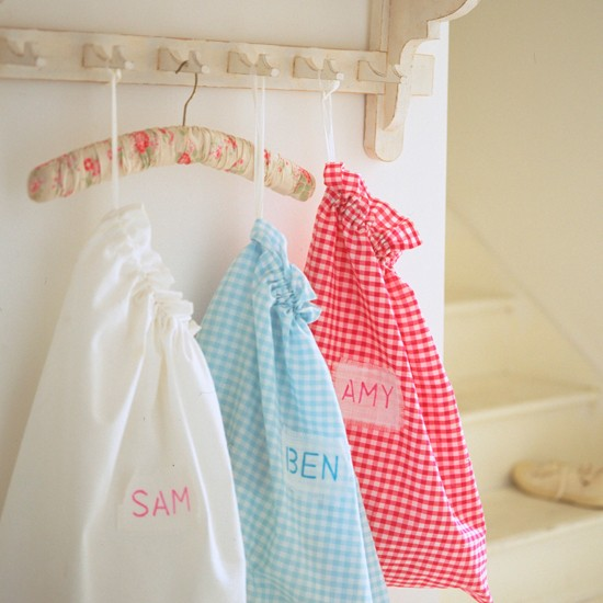 Utility room storage bags | Utility rooms | Laundry rooms | Decorating ideas | PHOTO GALLERY | Housetohome.co.uk