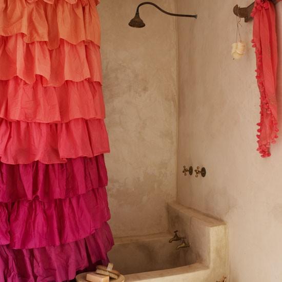 Rustic Bathroom Bathroom Design Ideas Shower Curtains
