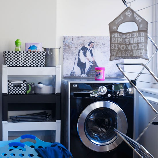 Modern utility room | Utility rooms | Storage ideas | Laundry rooms | PHOTO GALLERY | Livingetc | Housetohome