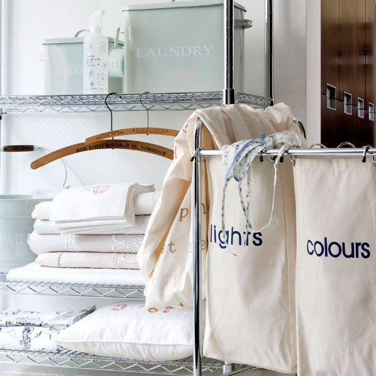 Clear laundry room clutter | Utility rooms | Storage ideas | Laundry rooms | PHOTO GALLERY | Livingetc | Housetohome