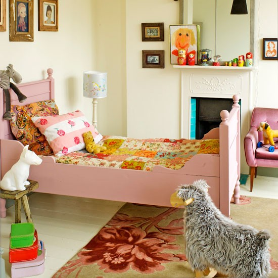 Eclectic child's bedroom | Children's beds | image