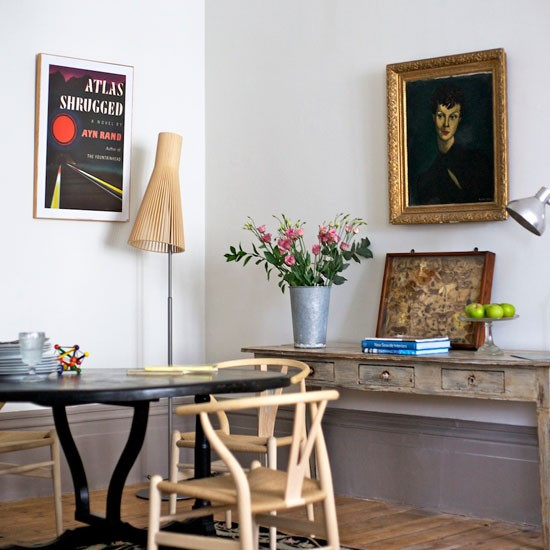 Eclectic dining room | Dining room furniture | image