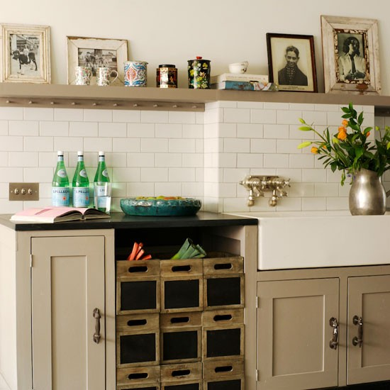 Vintage-style kitchen storage | Kitchen storage furniture | image