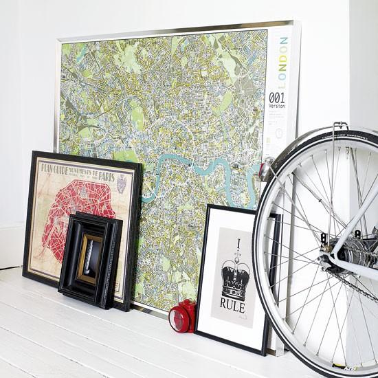 Travel-inspired living room | Wall display | Image | Housetohome.co.uk