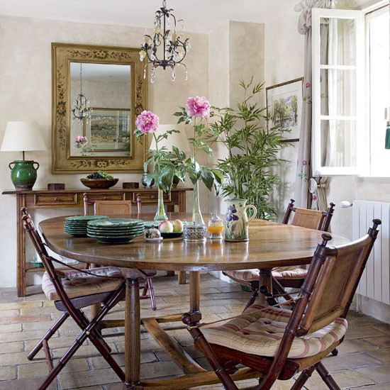 French country-style dining room | Dining room ideas | image