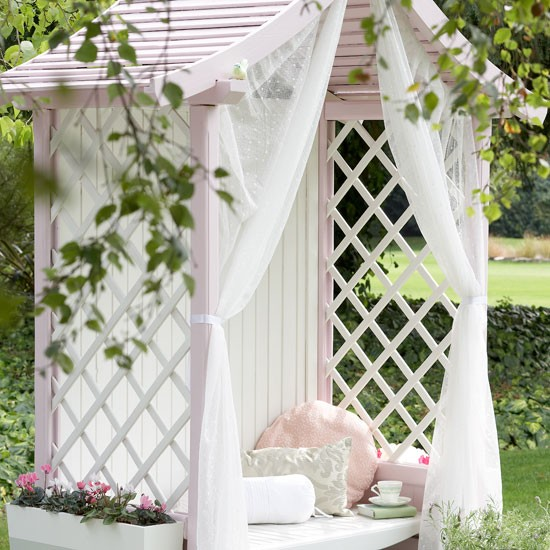 Country garden arbour | Garden furniture | image