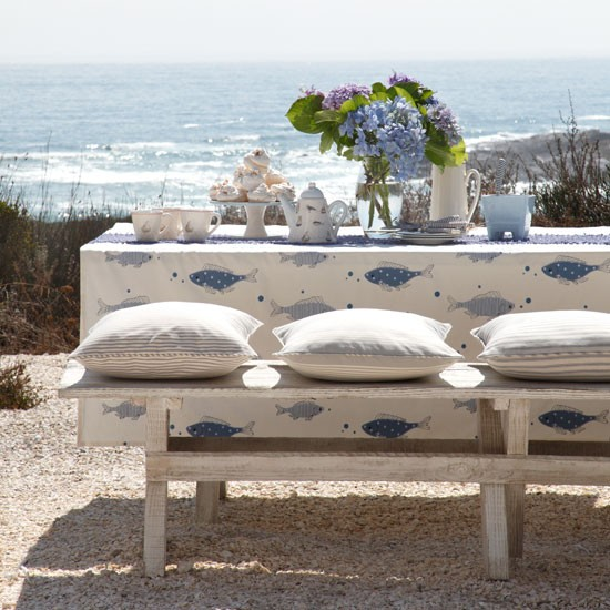 Coastal-inspired outdoor dining | Alfresco dining | Image | Housetohome