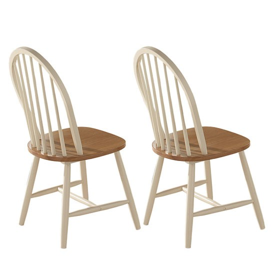 Buttermilk foxcote kitchen chairs from scotts of stow for Kitchen chairs