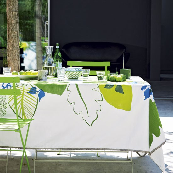 Colourful outdoor dining area | Outdoor living | Image | Housetohome