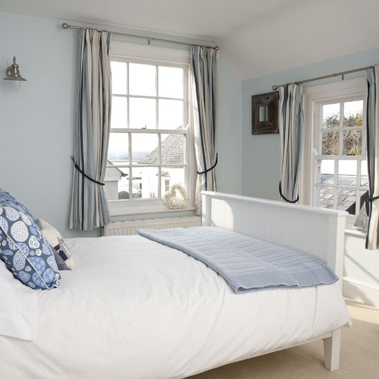 Pale blue bedroom  Bedroom designs  Knitted throws  housetohome.co ...