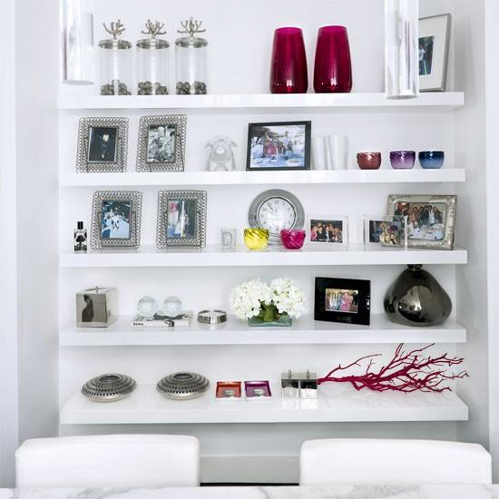 White dining room storage | Dining room designs | Image | Housetohome.co.uk