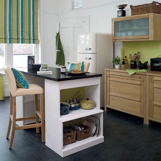 Lime green kitchen  Kitchen colour schemes  Kitchen decorating ideas