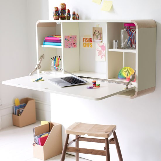 Fold-away children's desk | Bedroom designs for teenage girls - 20 ...