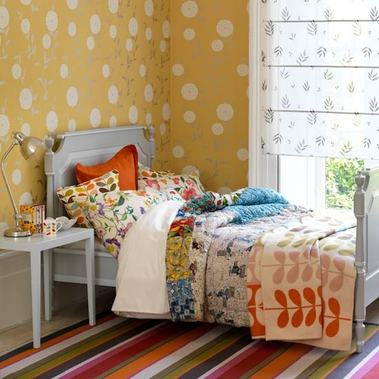 Country cool bedroom | Bedroom ideas for teenage girls | Decorating ideas for girls rooms | PHOTO GALLERY | Housetohome