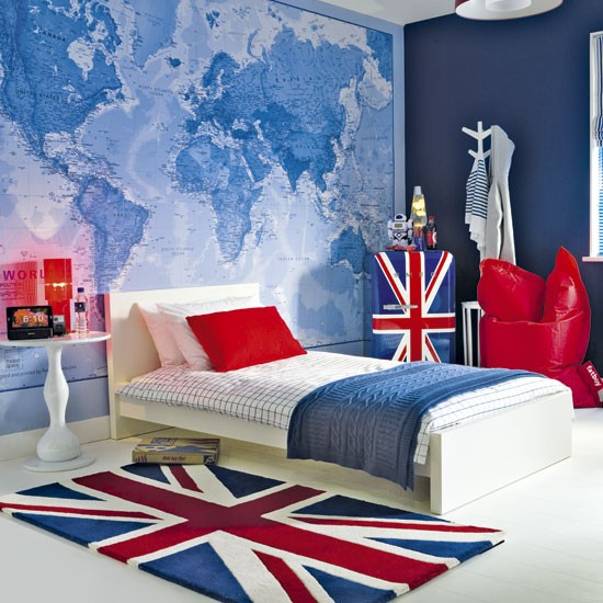 British themed boy 39 s bedroom boy 39 s bedroom ideas for Bedroom design uk