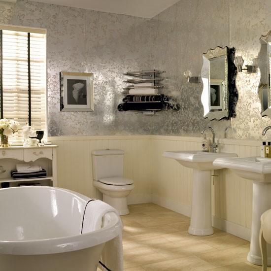 Glamorous Neutral Bathroom Decorating Ideas