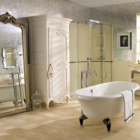Spacious bathroom | bathroom designs | Freestanding baths