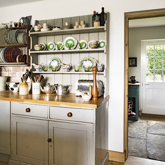 Country kitchen dresser | Country kitchen | image