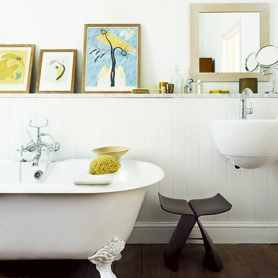 Eclectic bathroom | Bathroom designs | Image | Housetohome.co.uk
