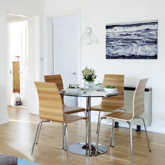 Pastel blue dining room | Dining room designs | Image | Housetohome.co.uk