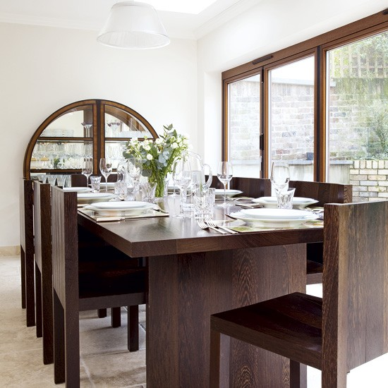 Classic white dining room | Dining room designs | image