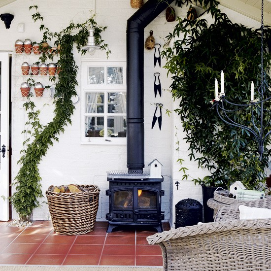 Conservatory With Wood Burning Stove Conservatory