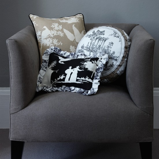 Grey living room | Living room designs | image