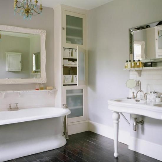 White classic bathroom | Bathroom designs | Image | Housetohome.co.uk
