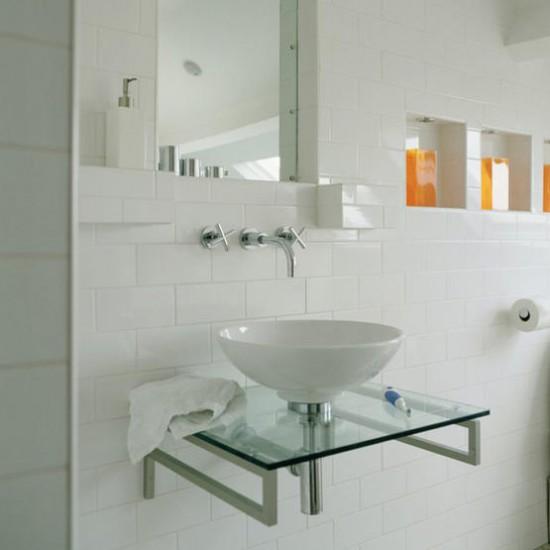Bathroom decorating ideas | Modern basin | Image | Housetohome.co.uk