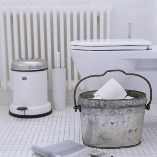 Bathroom accessories white bathroom for White toilet accessories