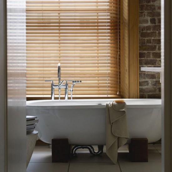 Small rustic bathroom | Decorating ideas | Image | Housetohome.co.uk