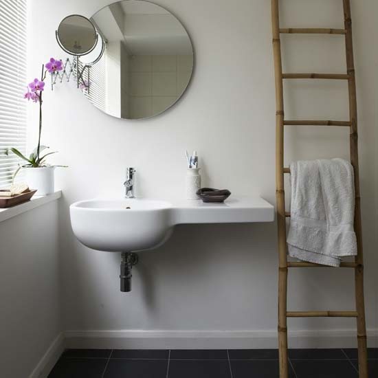 White bathroom | Bathroom designs | Image | Housetohome.co.uk