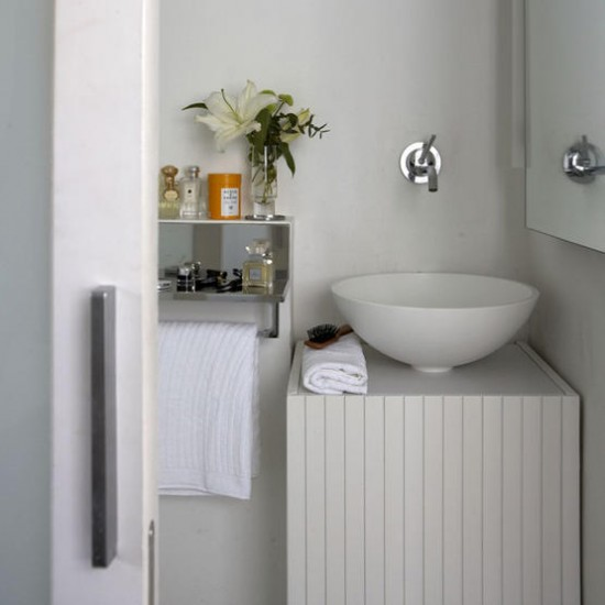 Modern white bathroom | Bathroom designs | Image | Housetohome.co.uk