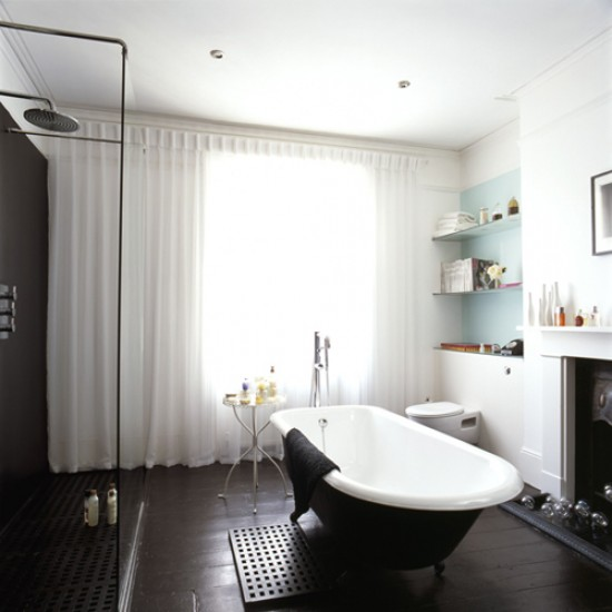 Sophisticated bathroom | Monochrome design | Image | Housetohome.co.uk