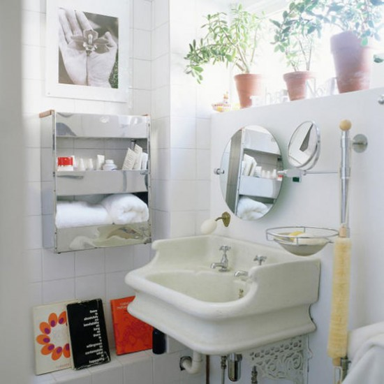 Retro bathroom | Modern design | Image | Housetohome.co.uk