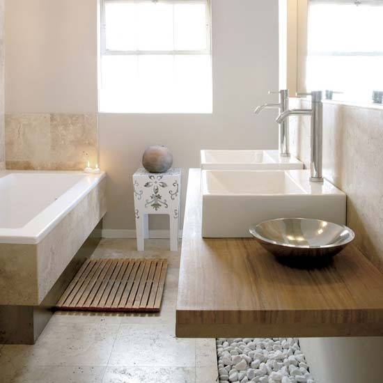 Neutral bathroom | Bathroom designs | Image | Housetohome.co.uk