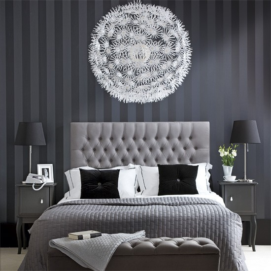 Modern monochrome bedroom | Bedroom designs | image
