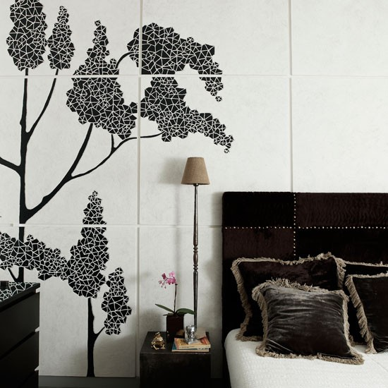 Black and white bedroom | Bedroom designs | Image
