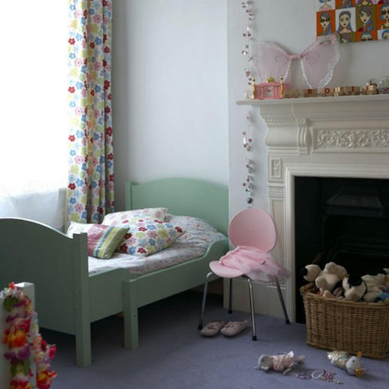 Modern girl's bedroom | Children's bedroom | Image